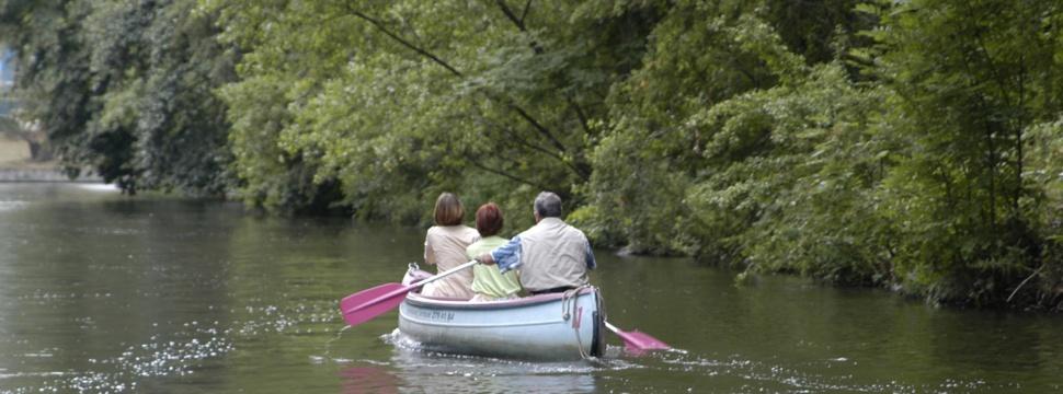 Mit dem Kanu durch Schleswig-Holstein