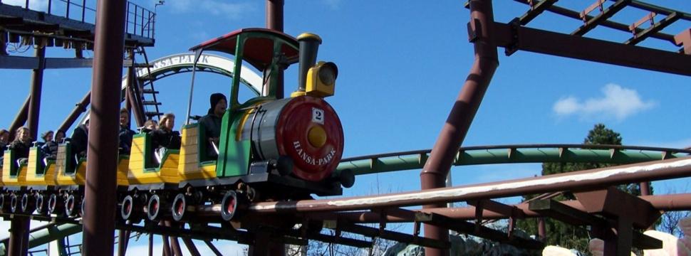 Achterbahn im Hansa-Park, © toedti2000 / pixelio.de