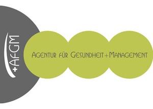 Logo AfGM Agentur für Gesundheit+Management