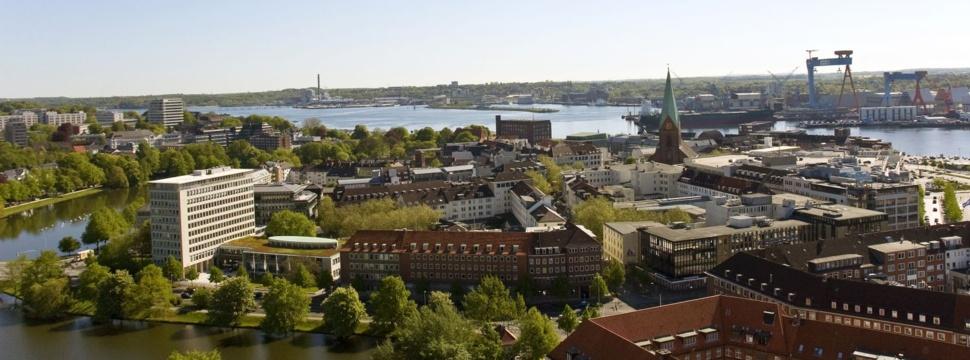 Blick über Kiel, © Landeshauptstadt Kiel/Bodo Quante