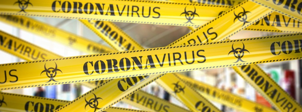 Coronavirus Absperrband, © iStock.com/bet noire