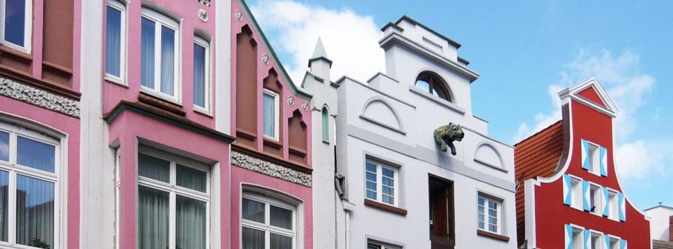 Historischer Stadtkern in Wismar, © Huber / pixelio.de