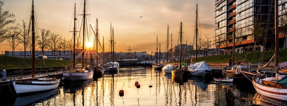 Hoern-Abendstimmung LH Kiel, © Kai Teichmann