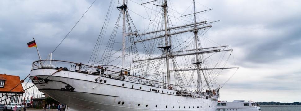 Segelschulschiff Gorch Fock, © istock.com/JJFarquitectos